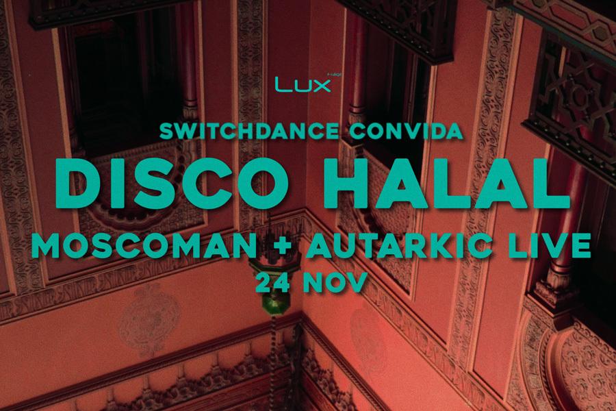 SWITCHDANCE convida DISCO HALAL